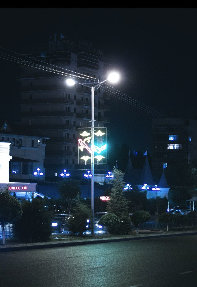 Ночной Шымкент